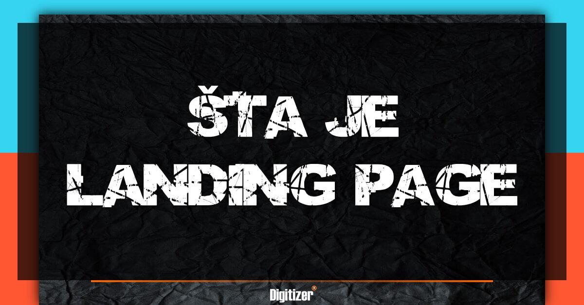 Šta Je Landing Page