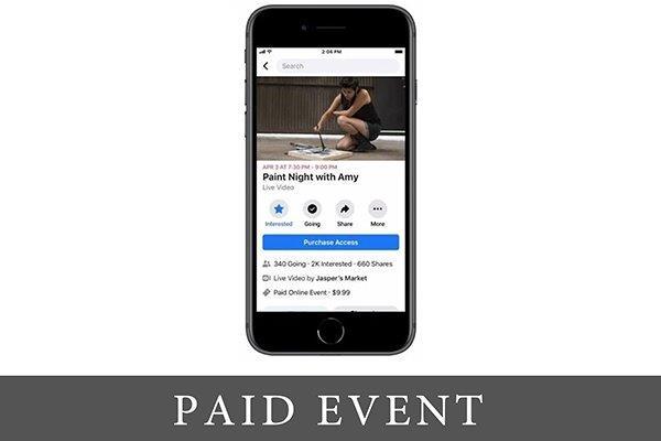 Plati da pratiš dogadjaj – Na Facebook-u!