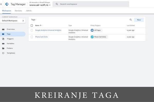 Čemu služi Google Tag Manager?