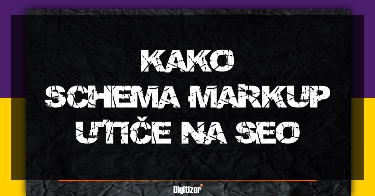 Kako Schema Markup Utice Na Seo