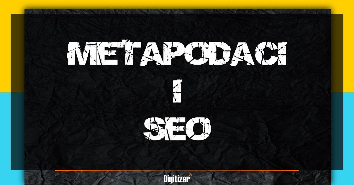 Šta Su Metapodaci?