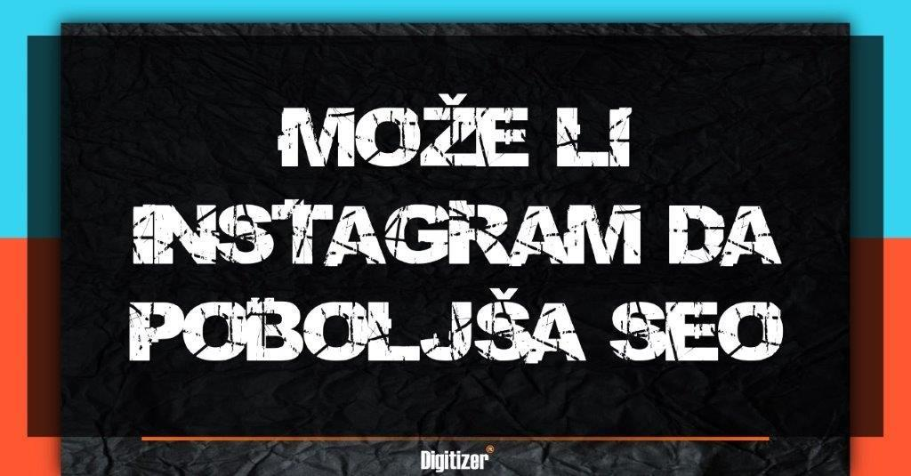 Naslovna Fotografija Za Tekst Pod Nazivom Može Li Instagram Da Poboljša SEO