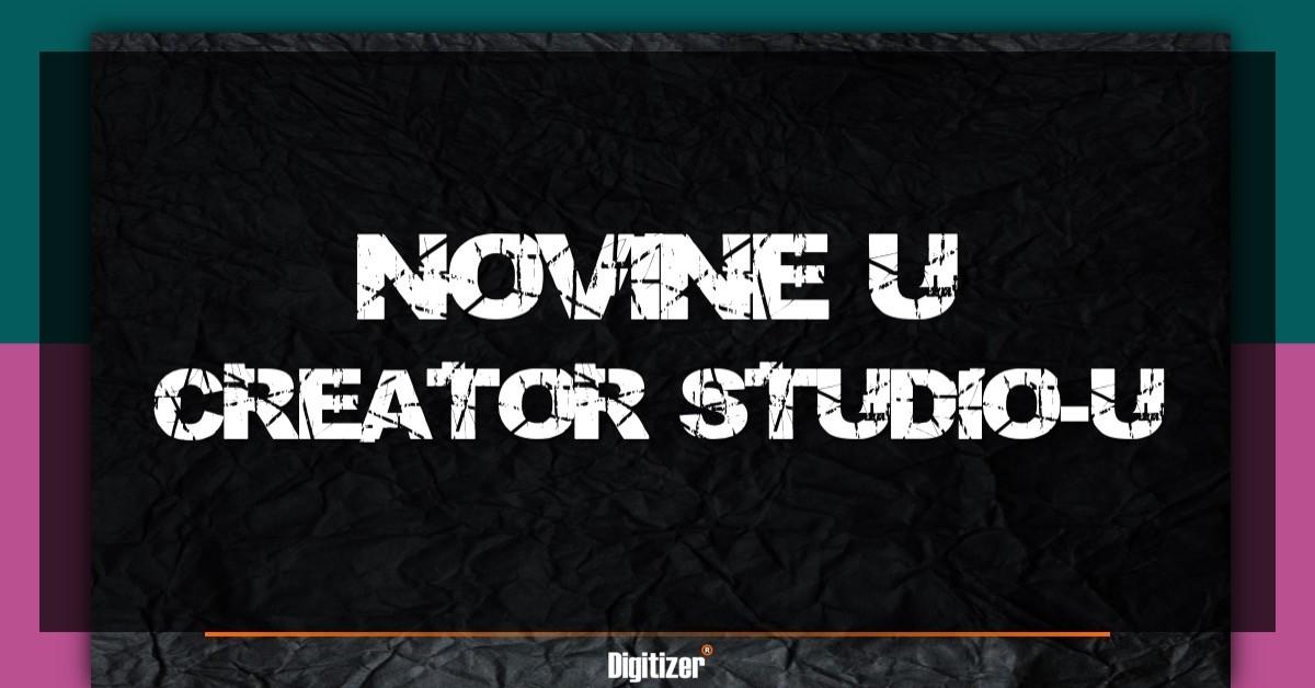 Novine U Creator Studio-u