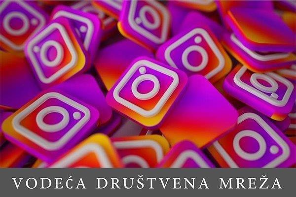 Mnogobrojne ikonice Instagrama na gomili
